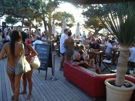 Come Ibiza - Blue Marlin terraza blog